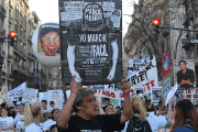 Argentines held a national march against extrajudicial killings.