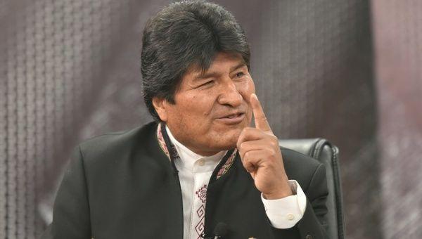 President Evo Morales responded to US Senator Marco Rubio