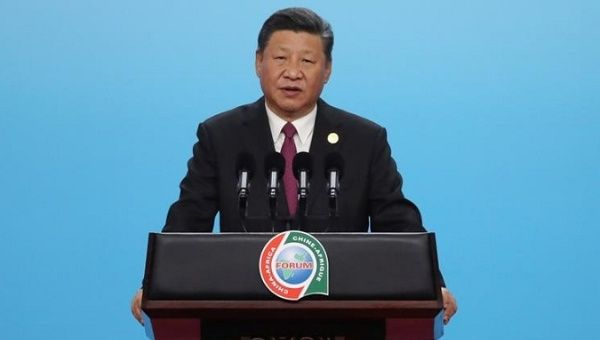 "Chinese President Xi Jinping denied critics' accusations of entertaining ""vanity projects"" or ""debt trap"" diplomacy in Africa."
