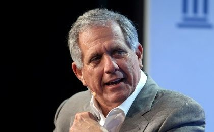 Leslie Moonves, Chairman and CEO, CBS Corporation, speaks during the Milken Institute Global Conference in Beverly Hills, California, U.S., May 3, 2017