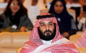 Saudi Crown Prince Mohammed bin Salman attends the Future Investment Initiative conference in Riyadh, Saudi Arabia Oct. 24, 2017.