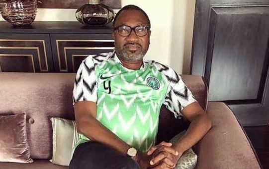 Fifty-five-year-old oil magnate, Femi Otedola
