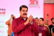 Venezuela's President Maduro attends event with youth of Venezuela's United Socialist Party (PSUV) in Caracas, Venezuela Sept. 11, 2018