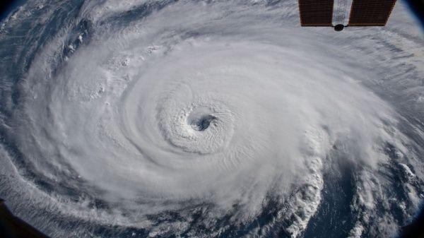 Las imágenes capturadas por la NASA a las 06H56 hora local de EE.UU. , las cuales develan la fuerza del peligroso huracán Florence.
