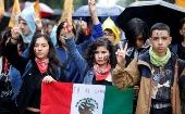 Mexico: Students Mark 50 Years Since 1968 'March of Silence'