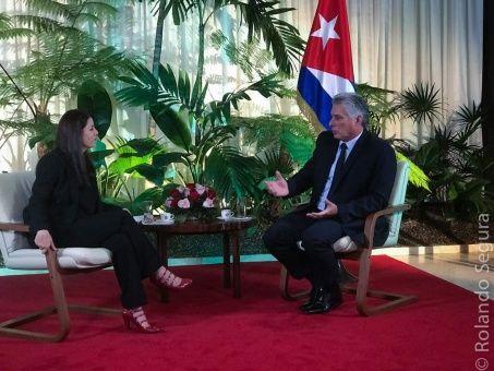 Sobre la Reforma Constitucional que se encuentra en desarrollo en Cuba, y los cambios que vienen en la isla, el presidente dijo estar de acuerdo con el matrimonio homosexual.