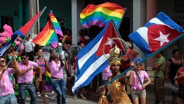 Pride parade in Cuba.