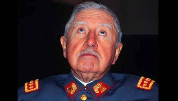 Deceased Chilean dictator Augusto Pinochet.