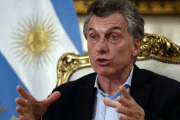 Argentina's President Mauricio Macri speaks during an interview for the Reuters Latin American Investment Summit at the Casa Rosada Presidential Palace in Buenos Aires, Argentina August 8, 2017.