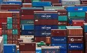 Shipping containers are seen at a port in Shanghai, China July 10, 2018.