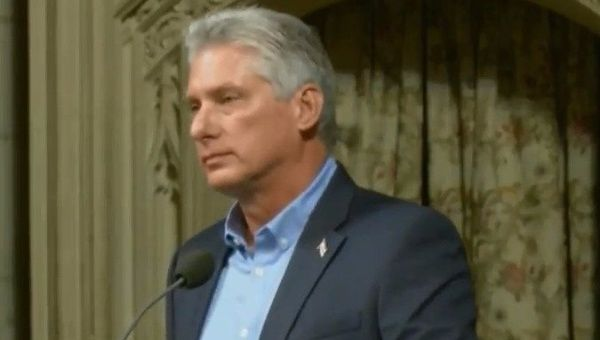 Cuban President Miguel Diaz-Canel said that although Cuba may not be rich in natural resources, it is rich in solidarity for the Latinx people.