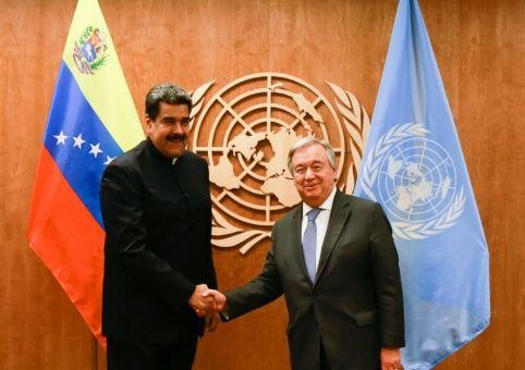 """""""Nosotros estamos haciendo nuestra campaña de paz por Venezuela"""", destacó el mandatario venezolano."""