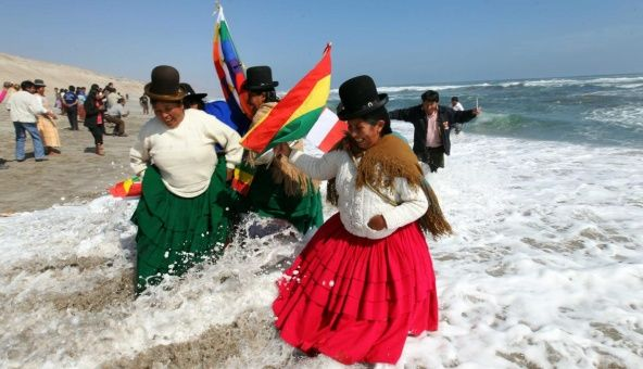 Bolivia perdió su salida al mar tras la invasión armada de Chile en 1879.