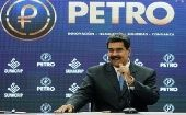 President Nicolas Maduro said the Petro is already present in the world's six topmost international exchange houses and will now be accepted at a national level.