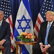 El primer ministro israelí, Benjamin Netanyahu se reunió con el presidente Donald Trump en Nueva York, al margen de la Asamblea General de la ONU.