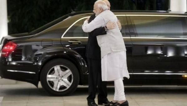 Modi (R) y Putin celebraron una exitosa cumbre bilateral anual el año pasado.