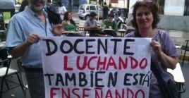 En muchos países del mundo, y también de la región de América Latina, los docentes se mantienen en constante lucha para reivindicar sus demandas y derechos.