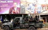 Cameroon was placed on lockdown for 48 hours, before the polls are scheduled to be open on Sunday