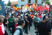 Thousands of people marched Riace, Italy on Saturday to show solidarity with its mayor Domenico Lucano, who is under house arrest for allegedly favouring illegal migration.