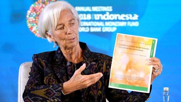 IMF Managing Director Christine Lagarde talks about Women
