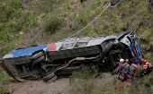 In August of this year, 24 people were killed in a bus crash 30km east of Quito, when it overturned after striking an overturned vehicle.