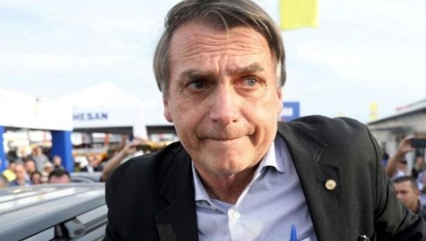 Bolsonaro was noted along with several other politicians including U.S President Donald Trump.
