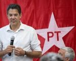 Fernando Haddad of the Workers' Party is campaigning to widen his base of support for the second round of votes.