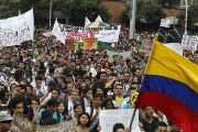 Colombia's Massive March For Public Education
