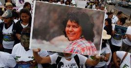 Berta Cáceres lideraba las protestas contra el proyecto hidroeléctrico Agua Zurca.