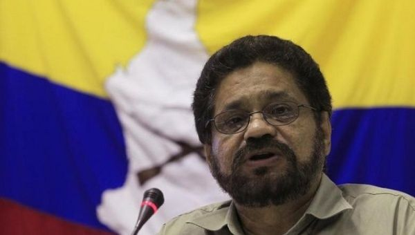"Ivan Marquez openly criticized the Colombian government of having ""no moral authority."""
