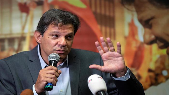 Denuncian campaña violenta contra Fernando Haddad en Brasil
