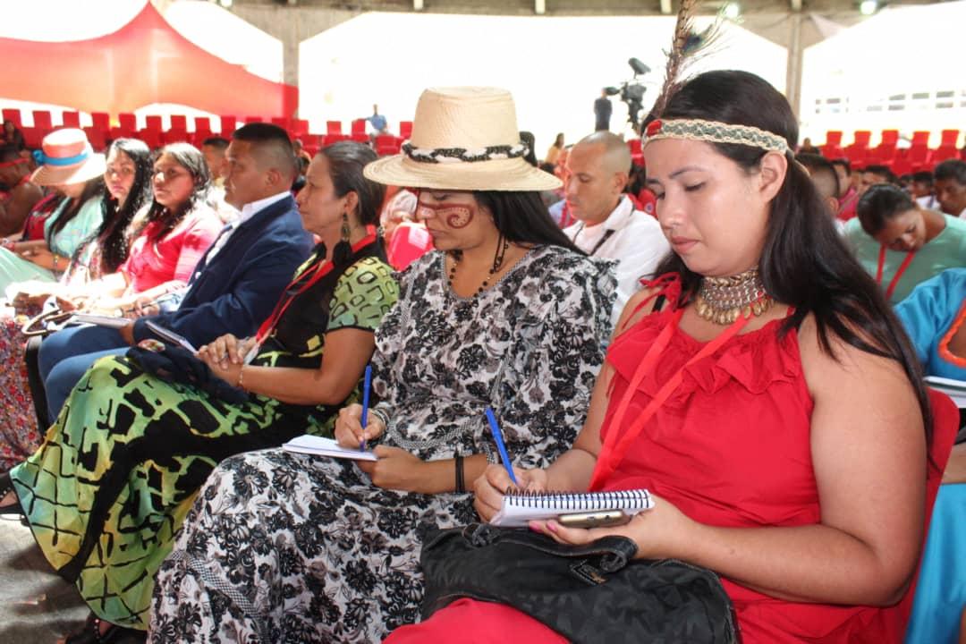 Celebran en Venezuela congreso indígena del PSUV