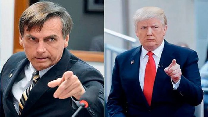 """Jair Bolsonaro: """"Soy un admirador del presidente Trump"""""""