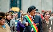 "Bolivian President Evo Morales, says the day will be ""unforgettable."""
