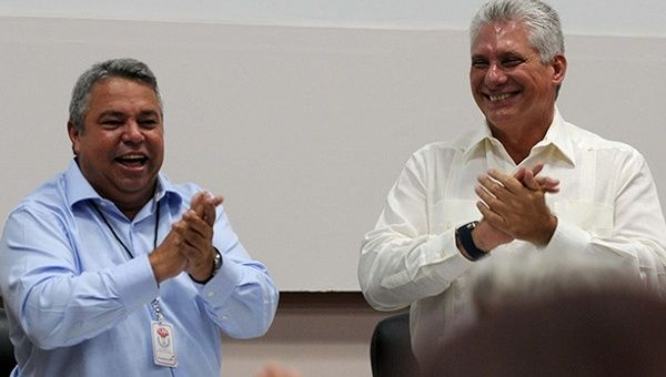 President Diaz-Canel addressed the first conference of the National Culture Workers