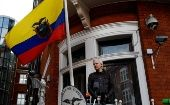 Julian Assange accepted political asylum from the Latin American country in 2012 to avoid extradition.