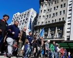 Argentine workers demand an end to austerity measures.