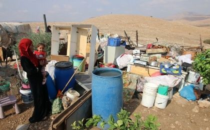 Bedouins await the imminent demolition of their village, which they have vowed to resist.