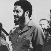 Daniel Ortega, Maurice Bishop and Fidel Castro