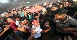 Desde el inicio de la Gran Marcha del Retorno el pasado 30 de marzo, 200 palestinos han muerto y más de 22.000 fueron heridos en las represiones del Ejército israelí.