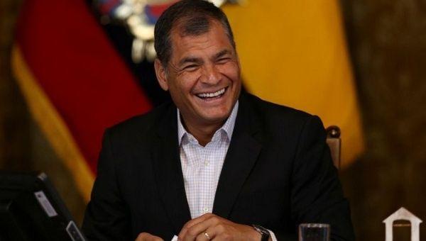 Former President Rafael Correa