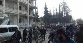 Idlib es la última ciudad donde se encuentran grupos extremistas, luego de la lucha contra el terrorismo que ha ejercido el Gobierno sirio.