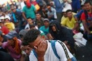 Honduran authorities say that at least two men have died so far on Mexican roads during the advance of the caravan.