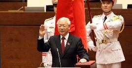 Trong es la primera persona en ejercer el cargo de secretario general del Partido Comunista y presidente de Vietnam al mismo tiempo.