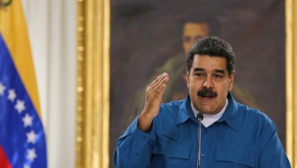 "Maduro Dismisses Pence as an ""Extremist,"" And ""Crazy."""