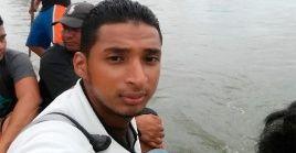 Melvin Josué Gómez falleció el pasado martes al caer de un camión que abordó para cruzar la frontera con México.
