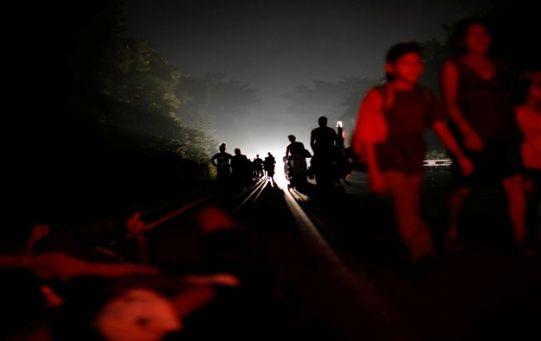 En la madrugada de este sábado los migrantes se movilizarán hacia el municipio de Tapanatepec.