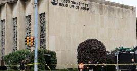 El Gobierno de EE.UU. condenó el tiroteo en la sinagoga de Pittsburgh.