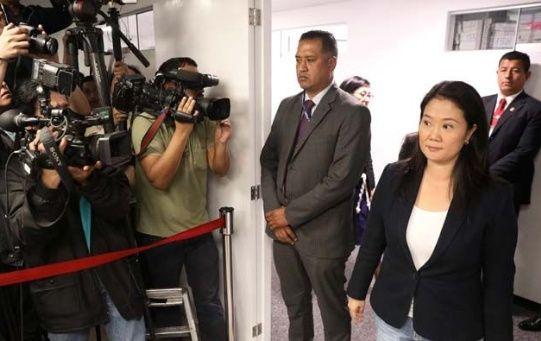 De ser hallada culpable Keiko Fujimori tendra que cumplir 36 meses de cárcel