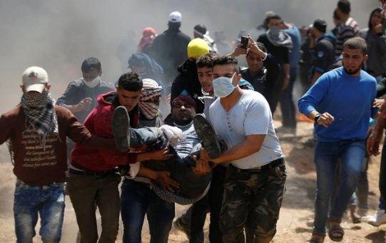 El pasado viernesseis palestinos murieron y 180 resultaron heridos por la represión y violencia delEjército de Israel.